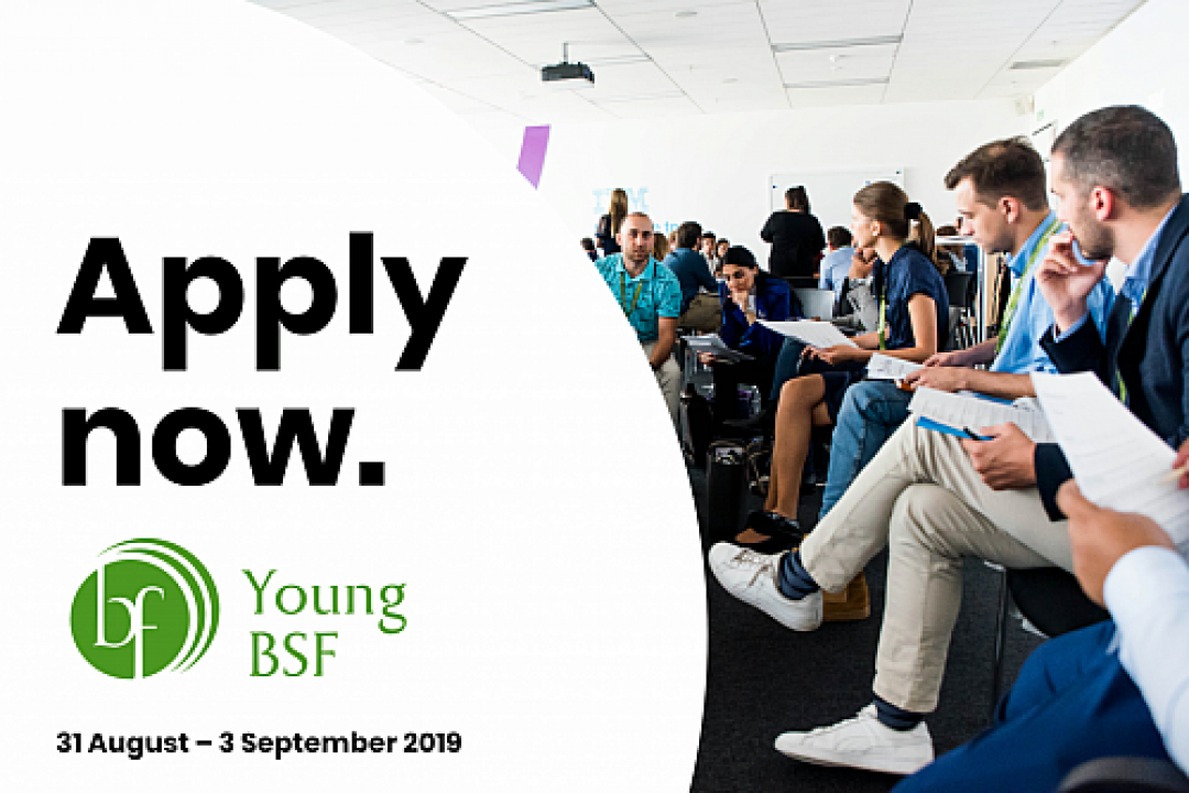 [APPLY NOW] Young BSF 2019: Youth as a (Future) (Re)source